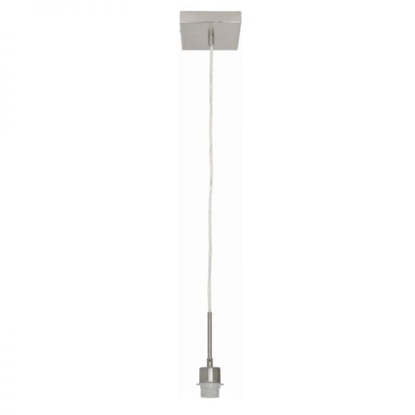 Pendel lamp enkel vierkant