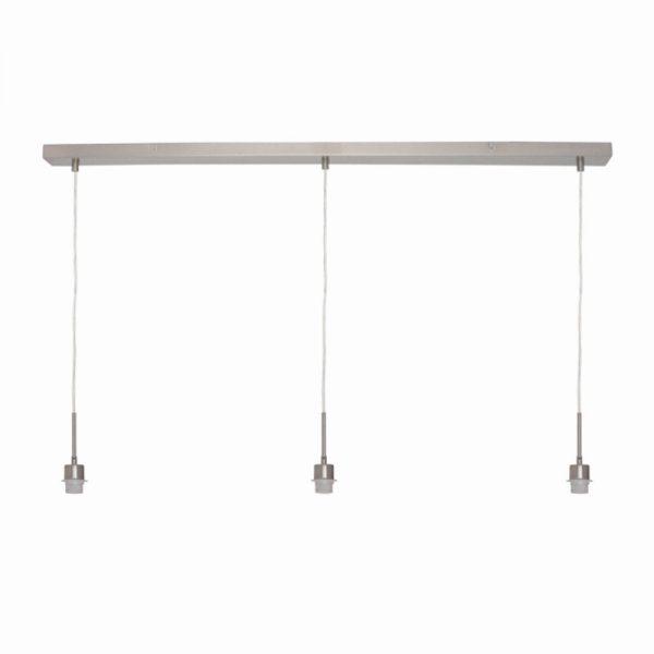 Plafondbalk voor 3 lampen