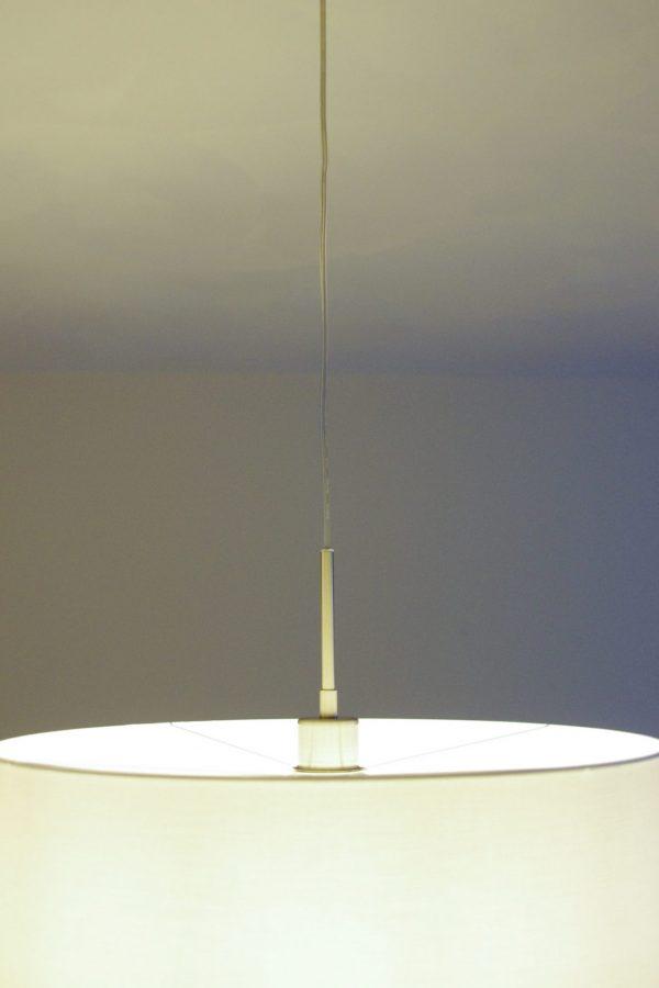 Plafondbalk - Snoer met metalen buis voor rechthangen lampenkap