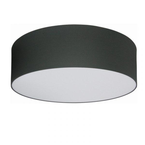 Grijze Plafondlamp van Stof - Extra Groot (veel licht)