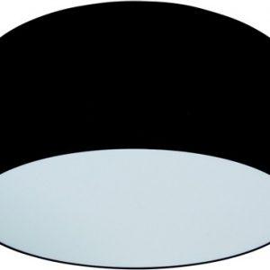 Disq Zwarte Stoffen Plafonniere
