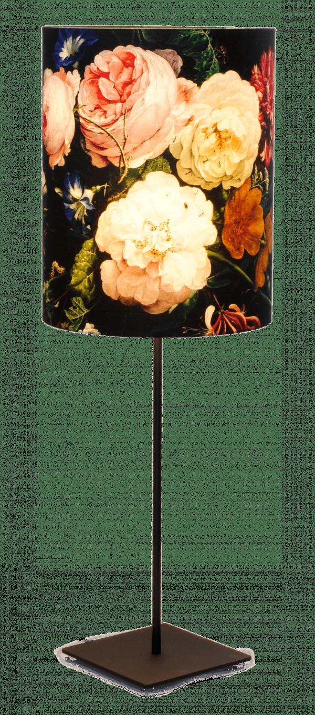 Lampenkap met bloemen