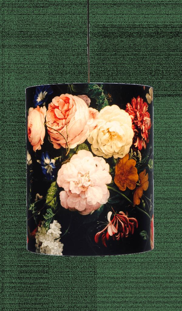 Lampenkap - Bloemen Schilderij