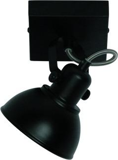 Factory-Pro 1-lichts spot zwart