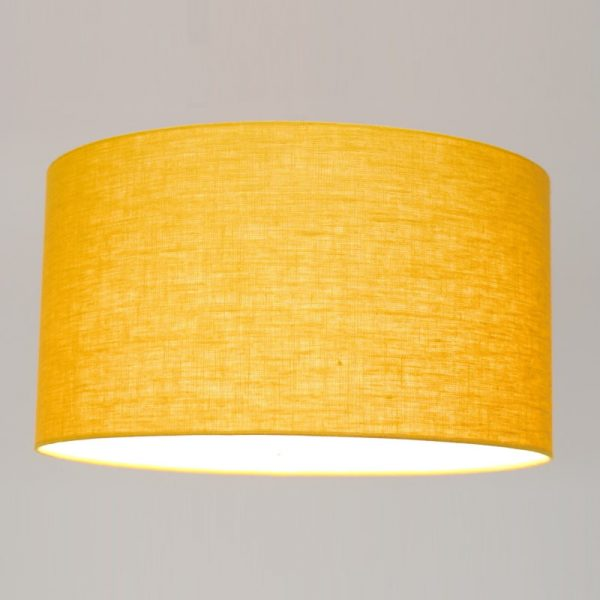 Gele Lampenkap - Stof Stylish LInnen