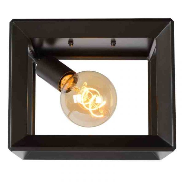 Construction Plafondlamp Metaal Grijs
