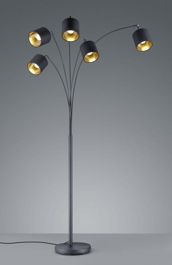 Vloerlamp 5 lampen - Vloerlamp Seventy Tree