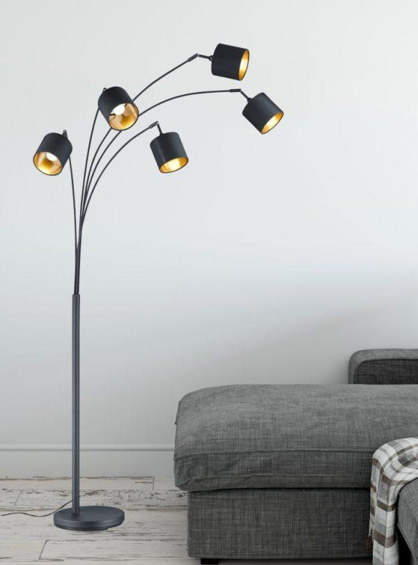 Vloerlamp met 5 lampen - Seventy Tree