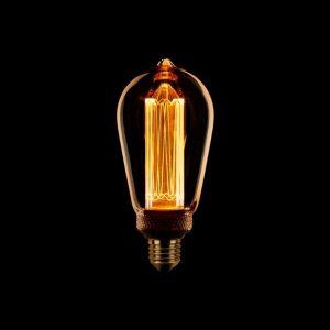 Edison LED Lamp - Kooldraad met E27 fitting
