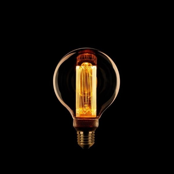 Globe Kooldraad Lamp LED | 80 mm Amber Dimbaar
