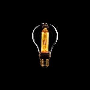 LED Lamp Peer - Helder glas en dimbaar