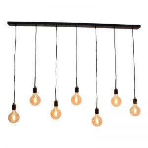 Hanglamp meerdere lampen - Bulby 7-lichts