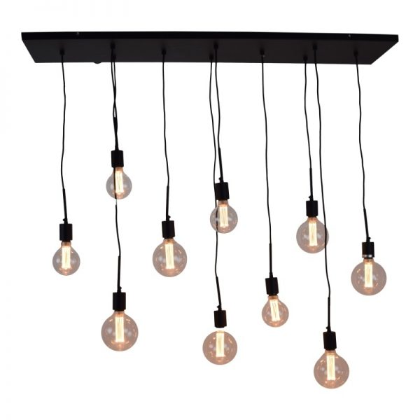 Hanglamp meerdere peertjes - Bulby 10-lichts