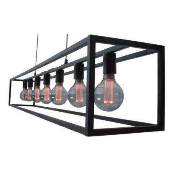 Cubic Hanglamp Frame XL - zijkant