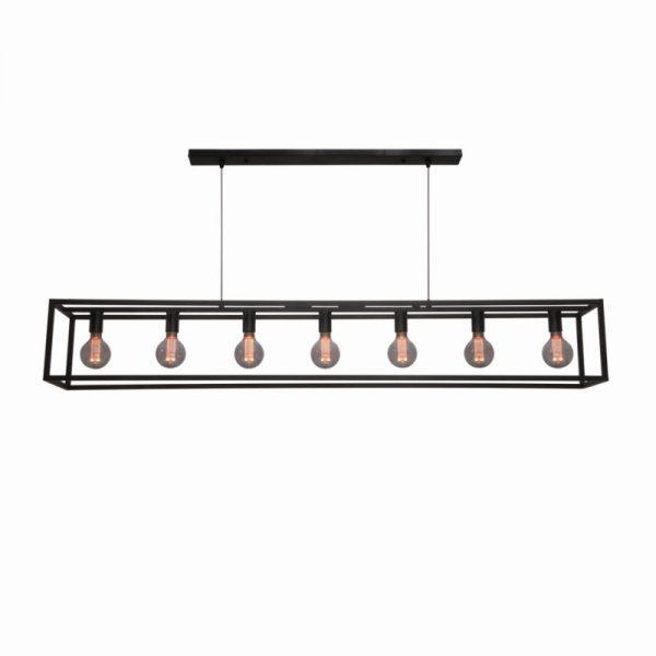 Hanglamp Frame Cubic XL Zwart
