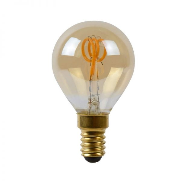 LED Lamp E14 dimbaar | Spiraal Amber (6-188170)