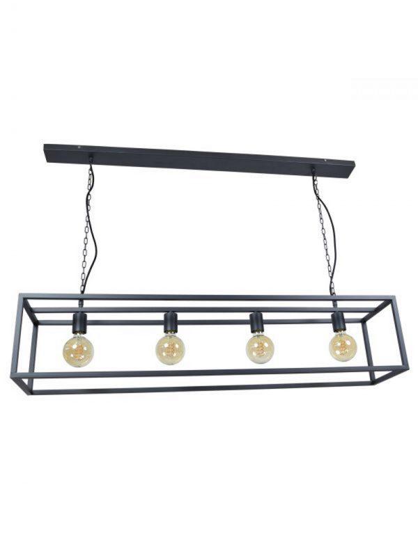 Cubic Hanglamp - Rechthoek voor boven eettafel