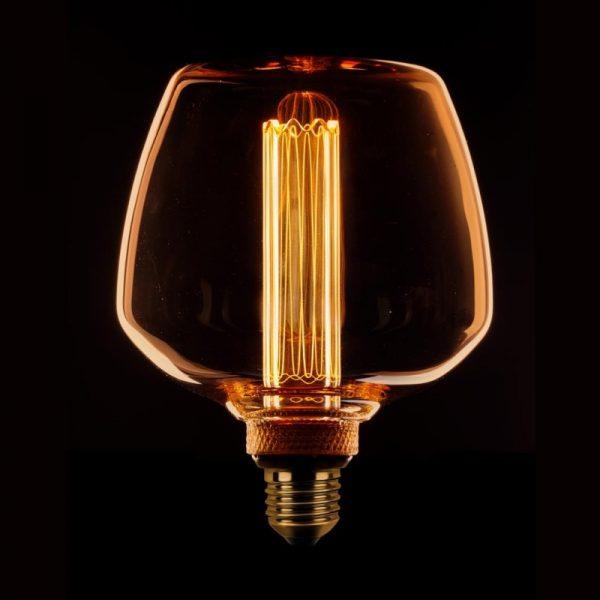 Kooldraad Design LED lamp - Amber glas (6-188798)