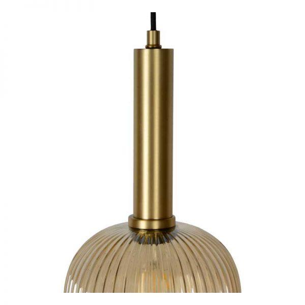 Bovenkant - Hanglamp Danique met Messing