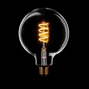 Globe LED Lamp E27 - Globe met spiraal 6-187326