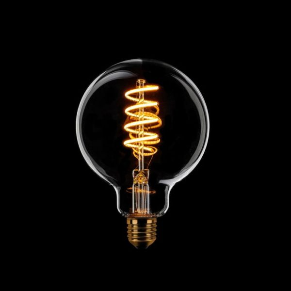 Lamp Spiraal Filament 95 mm LED E27 6-187302