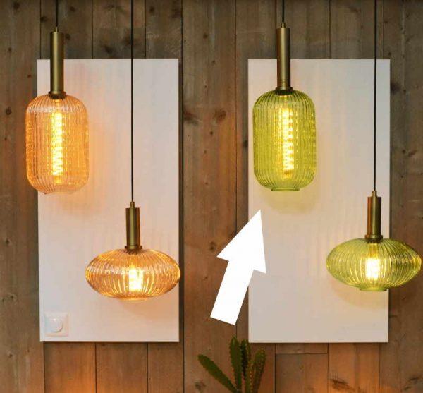 Retro Hanglampen - Glas Lampenkappen