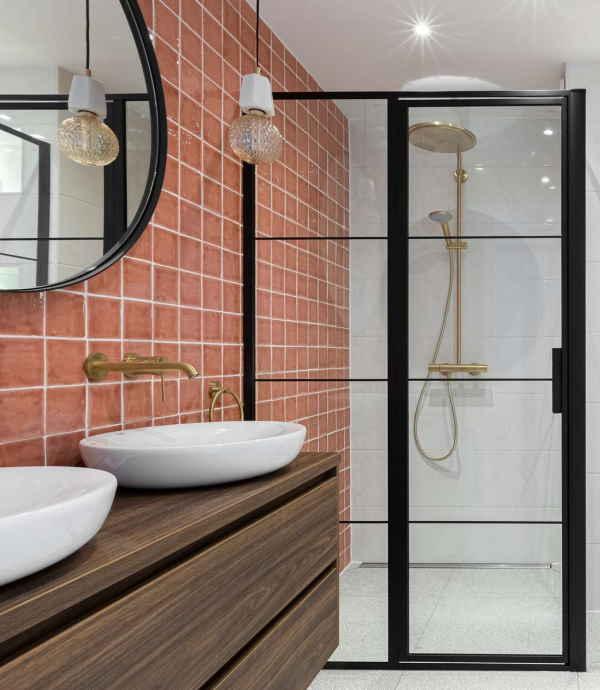 Badkamer Roze Lampen - Eigen Huis en Tuin