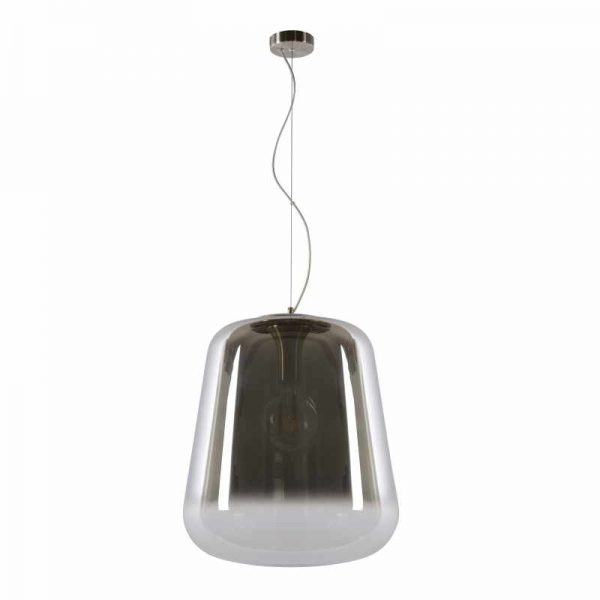 Hanglamp Bert - Rookglas Lampenkap