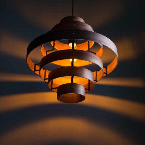 Luxa - Grote houten hanglamp