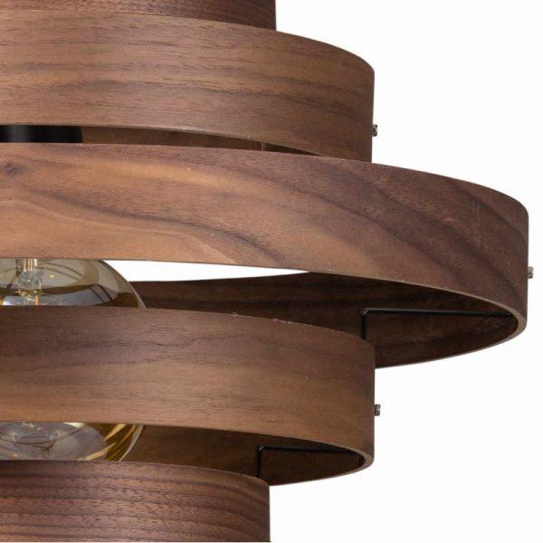 Luxa Houten Design Hanglamp (rond)