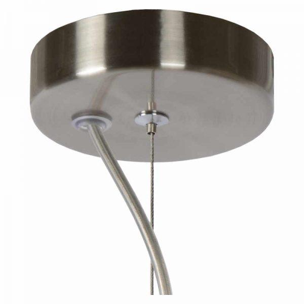 Plafondplaat - Bert Hanglamp Rookglas