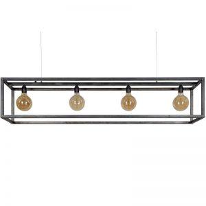 Hanglamp Rimini - Zwart Staal Ztahl (4936)