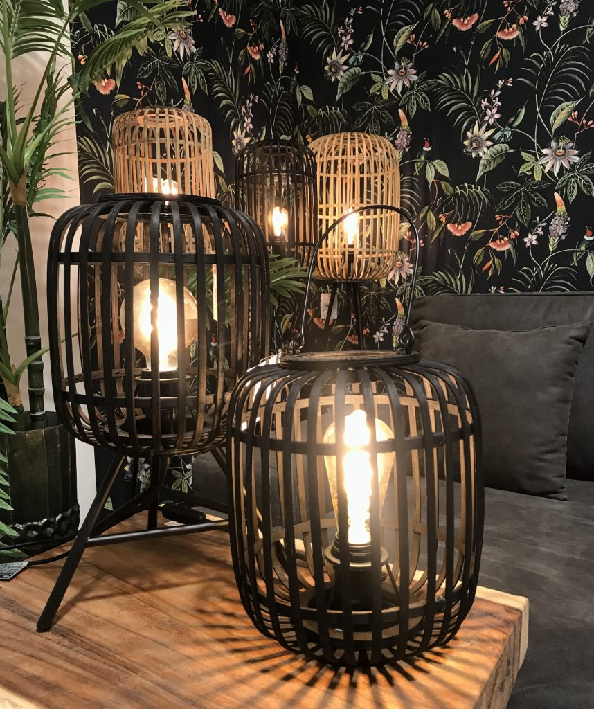 Rotan Tafellampen