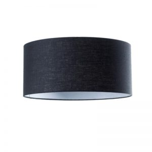 Zwarte Lampenkap Stof Luxe Linnen - Stylish