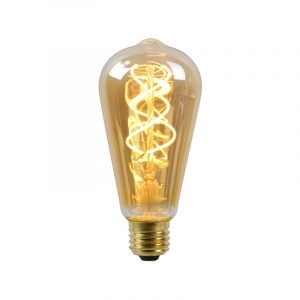 Lucide Edison Led Lamp Spiraal Amber Lucide