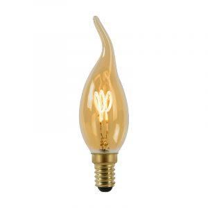 Lucide Kaars LED lamp E14 Spiraal Amber Lucide