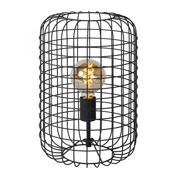 Tafellamp Zwart Gaas - Esmee