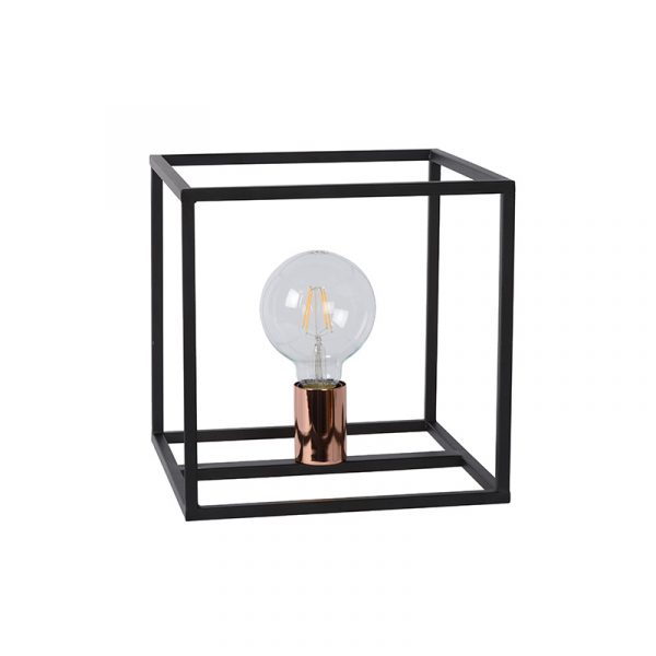 Arthur Tafellamp Zwart Koper