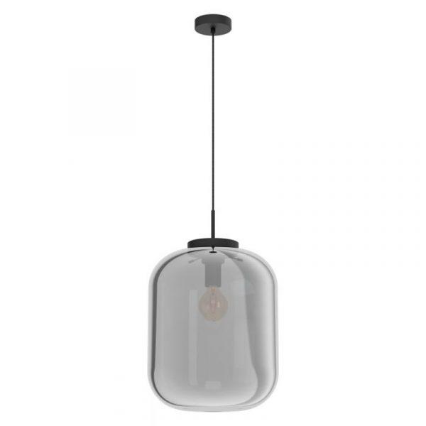 Diana Hanglamp Groot Rookglas