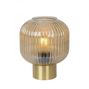 Danique Tafellamp Amber Mat Goud