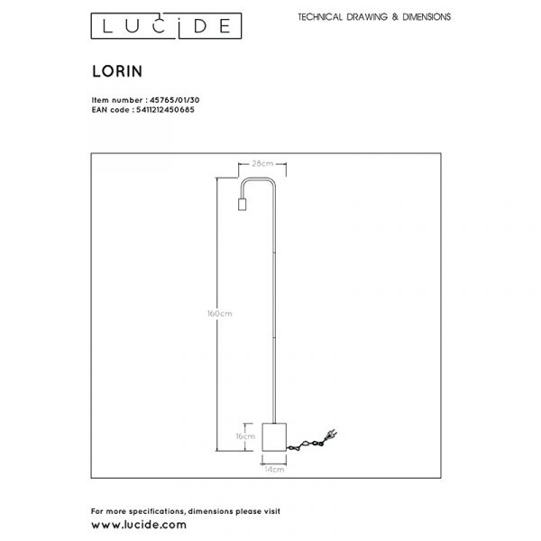 Steady Bow Vloerlamp Lucide