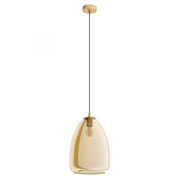 Vaas Hanglamp Groot Amber