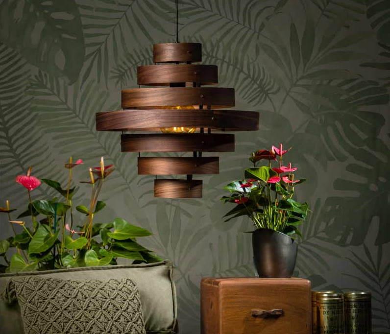 hanglamp hout luxa