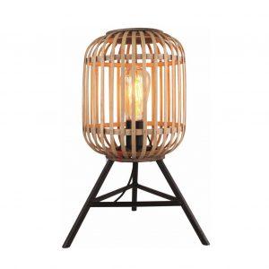 Macca - Rotan Tafellamp op driepoot