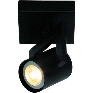 Huston 1-Lichts Spot Zwart