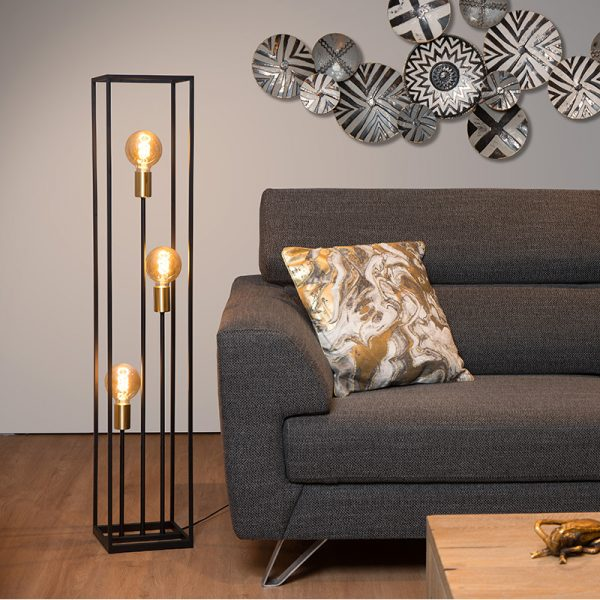 Ruben Vloerlamp 3-Lichts