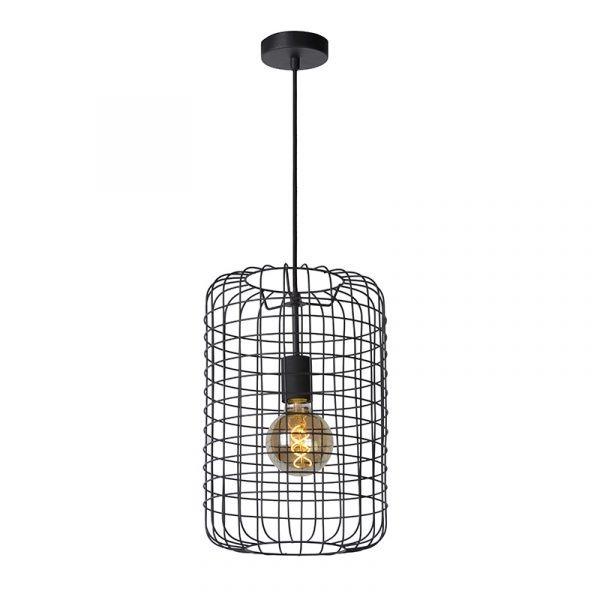 Esmee Hanglamp Zwart 26 cm