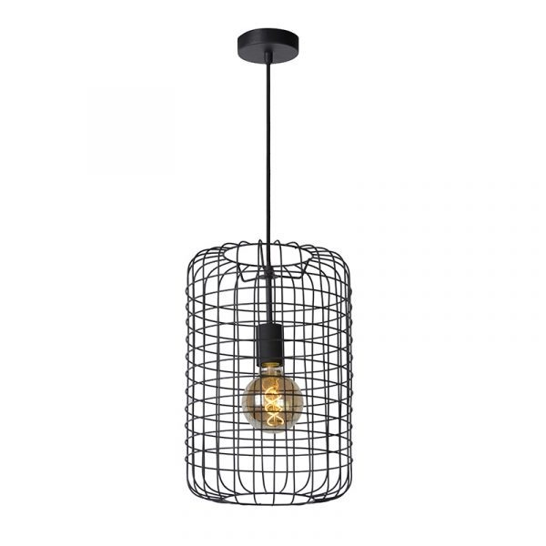 Cage Hanglamp Zwart 26 cm