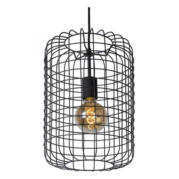 Cage Hanglamp - Zwart 26 cm