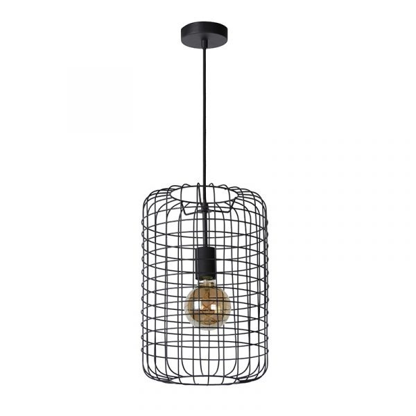 Lucide Hanglamp Esmee Zwart 26 cm - Kooi